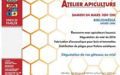 Atelier apiculture : venez y récupérer votre piège à frelons asiatiques !