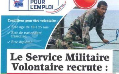 Le Service militaire volontaire de La Rochelle recrute