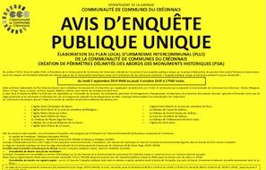 PLUI : Enquête publique