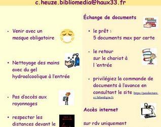 réouverture de la bibliomédia